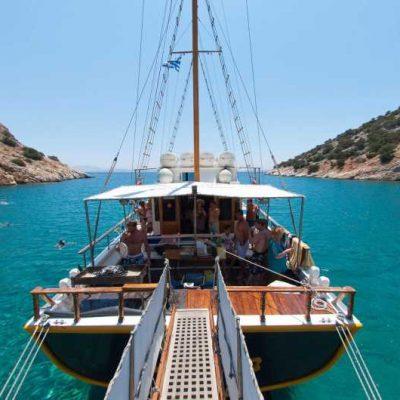 naxos boat cruise